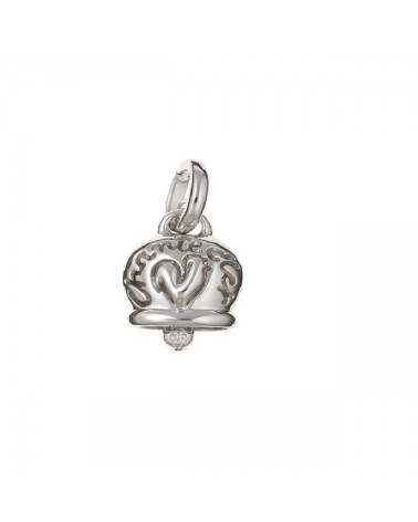 CHANTECLER Medium campanella charm in white gold