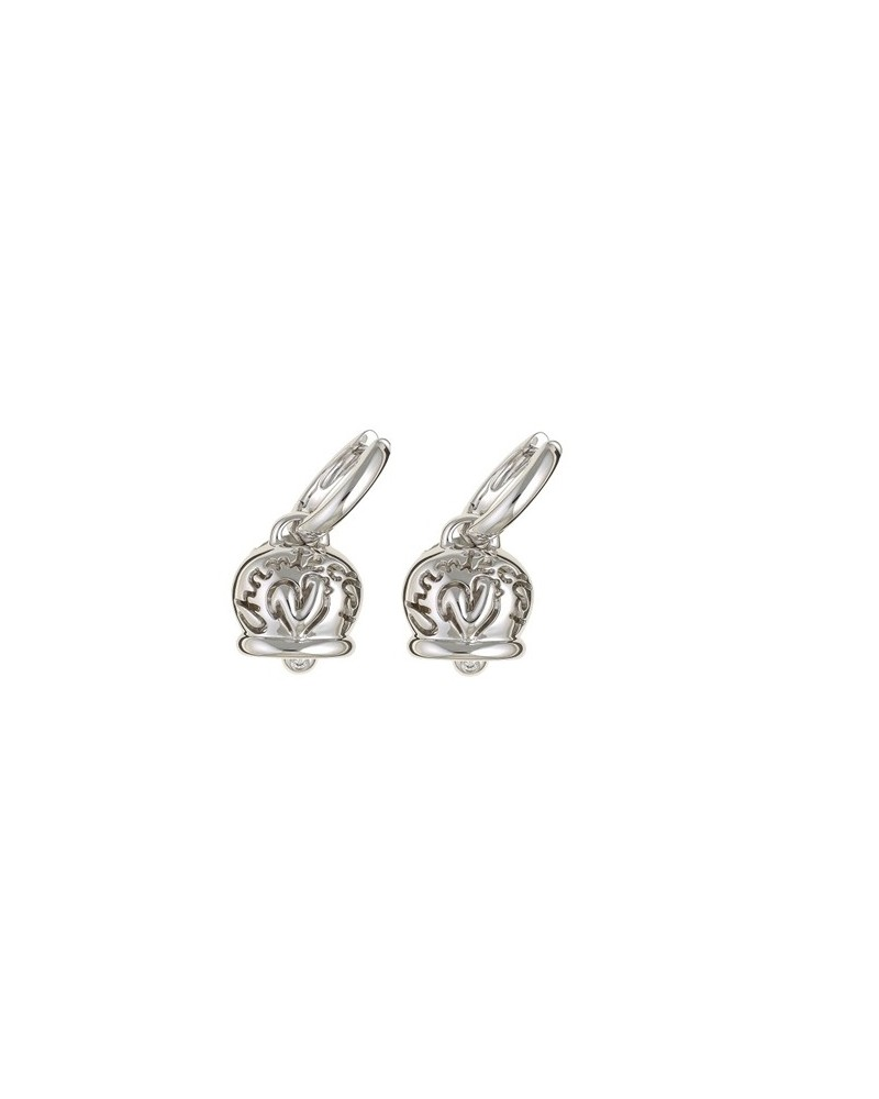 CHANTECLER Campanelle earrings in white gold