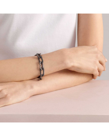 VHERNIER Mon Jeu bracelet in titanium and diamonds