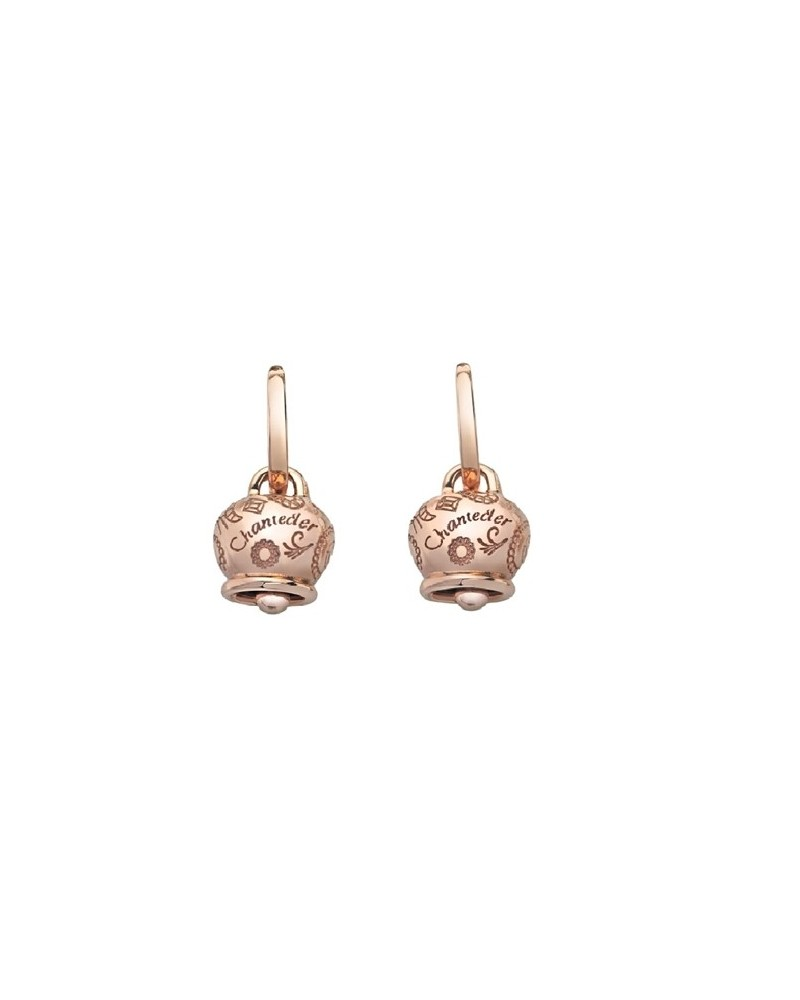 CHANTECLER Medium Campanelle earrings in rose gold