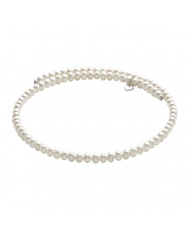 CHANTECLER Fresh Water Pearls and silver Accessories necklace