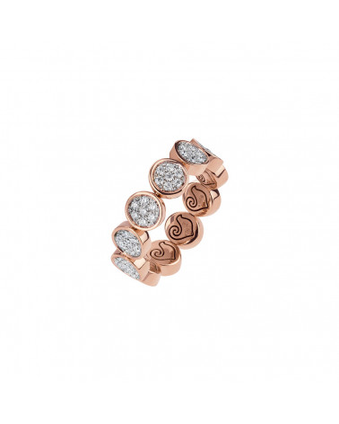 Paillettes band ring