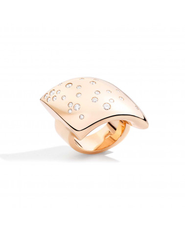 VHERNIER 18Kt. Rose Gold Fibula Ring