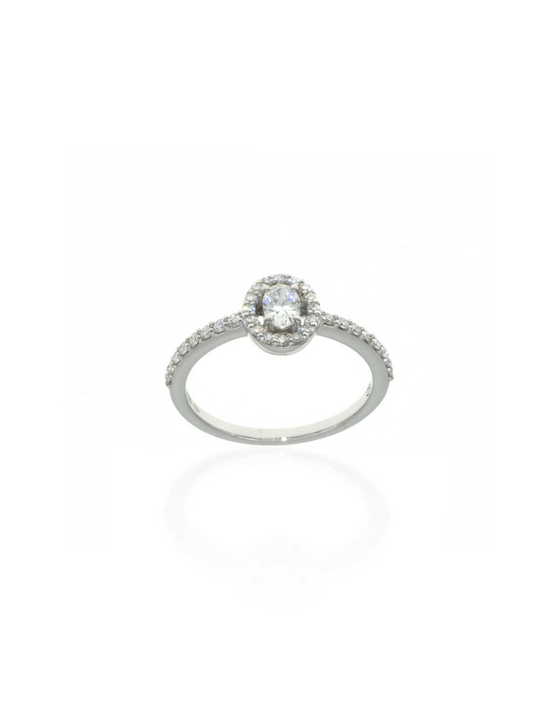 CAPECE GIOIELLIERI Oval diamond ring