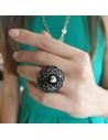 CHANTECLER Pailettes dome ring