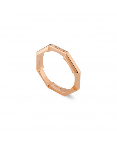 GUCCI Link to Love mirrored ring cod.662194 J8500 5702