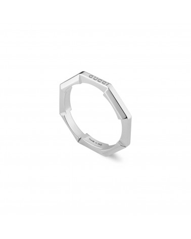 GUCCI Link to Love mirrored ring cod.662194 J8502 9000