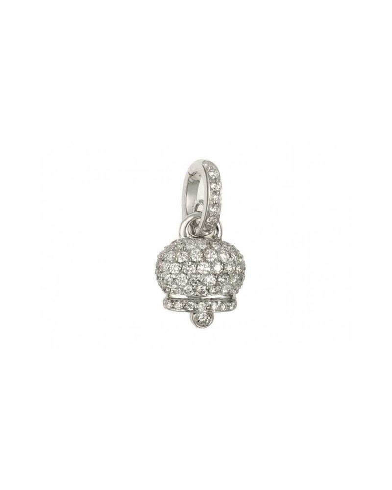 CHANTECLER Campanelle pendant in white gold and diamonds