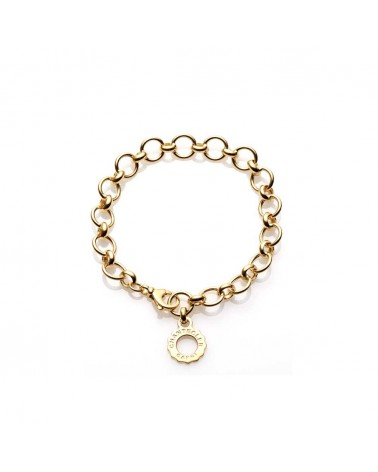 CHANTECLER Yellow gold round link bracelet