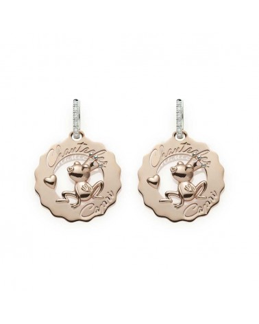 CHANTECLER Small logo earrings