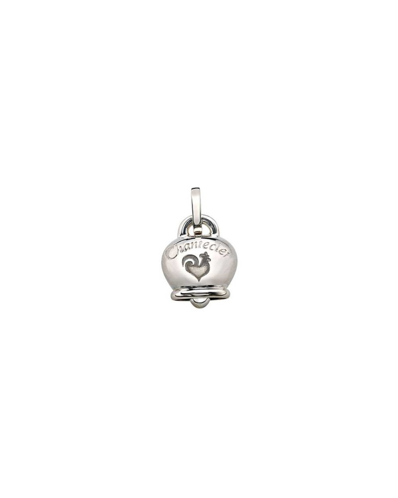 CHANTECLER Large bell pendant in silver