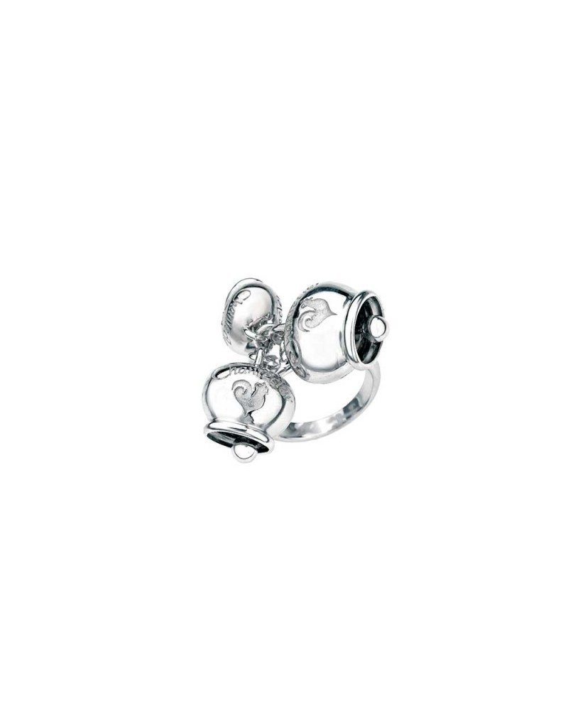 CHANTECLER Ring with three silver bells