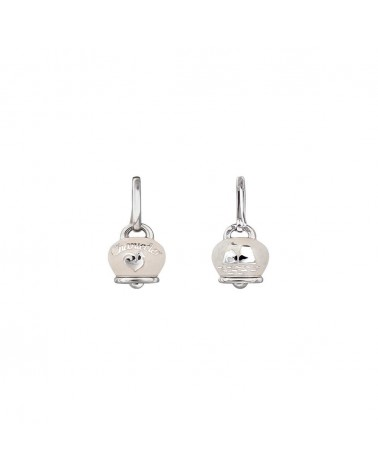 CHANTECLER Campanella earrings in silver and enamel