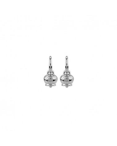 CHANTECLER Micro campanella earrings in silver
